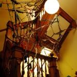 Tendencies of Sprawl, onsite installation made of fabric scraps