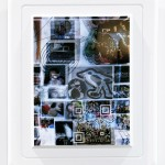 """No Comment"" no. 3.1, 2013, digital print, QR Code on paper with foam frame"