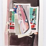 Stilllife_010 (a classic, Coca Cola, talent show), 2014, 30 x 22 in, watercolor on paper