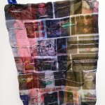 Baggage (detail), 2014, size variable, digital prints on fabric and thread, 10 piece installation