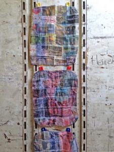 Baggage, 2014, digital prints on fabric with thread